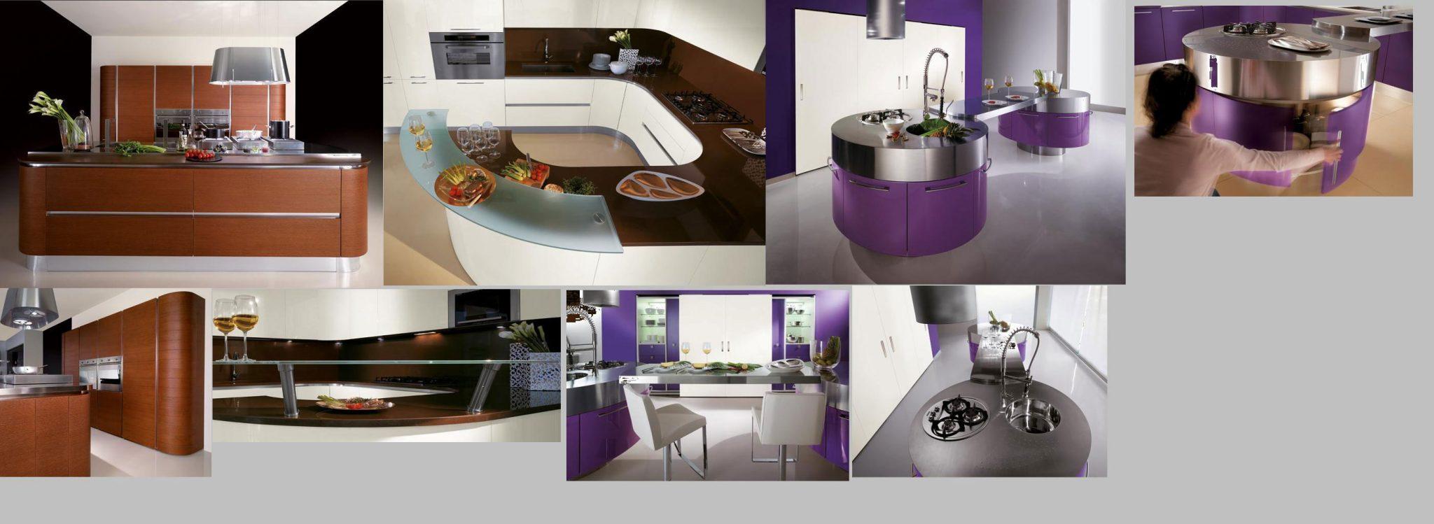 cuisine violet